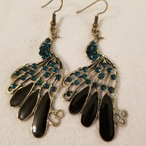 Accessories - Peacock earrings